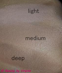 Contour Shades Top - Bottom Light, Medium, & Deep