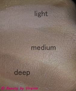 Contour Shades Top - Bottom Light, Medium, & Deep